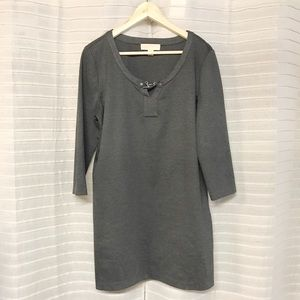 Michael Kors Grey tunic sweater dress XL